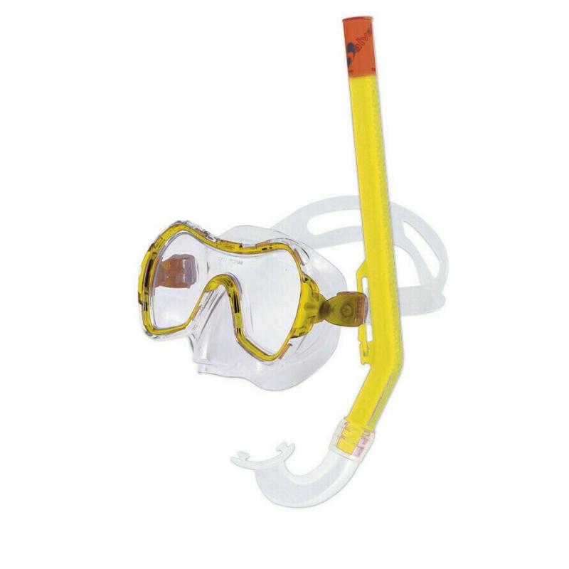 Набор для плавания Salvas Haiti Set , арт.EA530C1TGSTG, р. Medium, желтый
