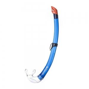 Трубка плавательная Salvas Flash Junior Snorkel , арт.DA301C0BBSTS, р. Junior, синий
