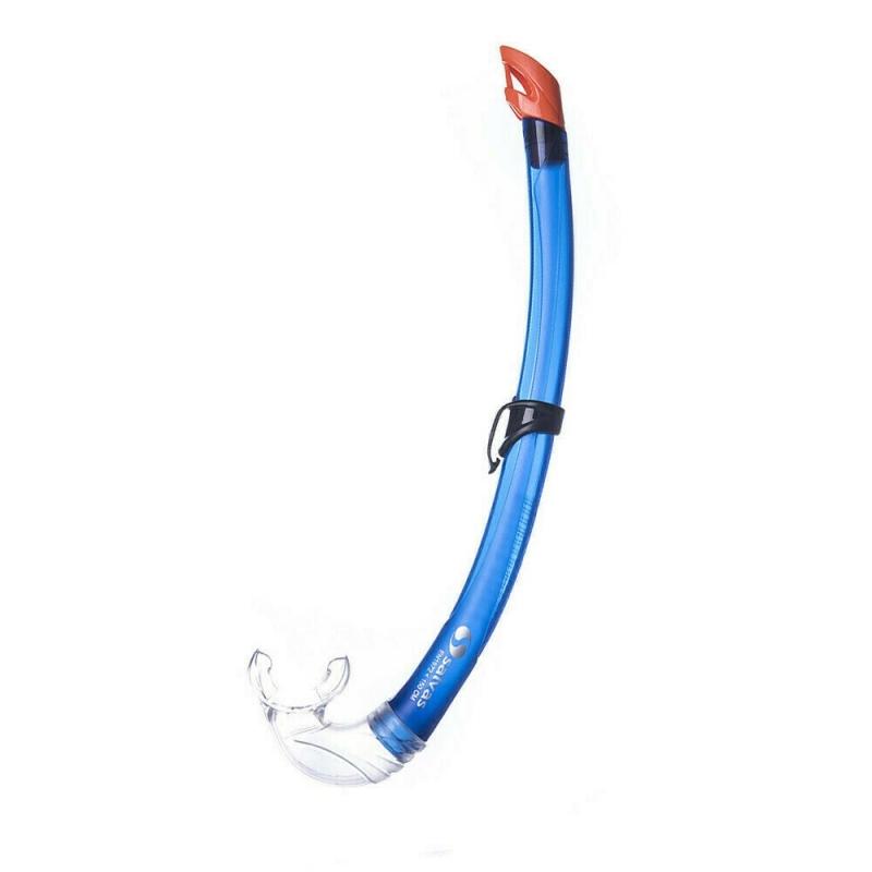 Трубка плавательная Salvas Flash Sr Snorkel , арт.DA302C0BBSTS, р. Senior, синий