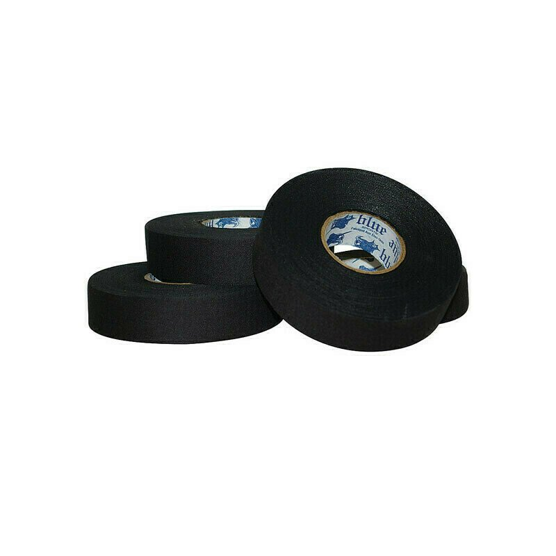 Лента хок. Blue Sport Tape Coton Black, арт.603307, ширина 24мм, длина 25м, черная