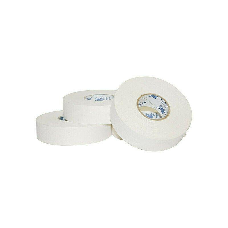 Лента хок. Blue Sport Tape Coton White, арт.601307, ширина 24мм, длина 25м, белая
