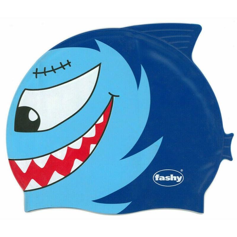 Шапочка для плавания детская  FASHY Childrens Silicone Cap , арт.3048-00-75, силикон, голубой