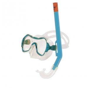 Набор для плавания Salvas Haiti Set , арт.EA530C1TQSTB, р. Medium, голубой в сетч. сумке