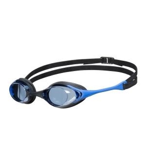 Очки для плавания  ARENA Cobra Swipe , арт.004195400, ГОЛУБЫЕ линзы, смен.перен., черн-син опр