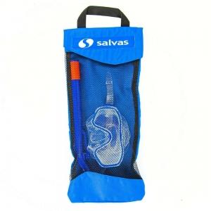 Набор для плавания Salvas Easy Set , арт.EA505C1TBSTB, р. Junior, синий в сетч. сумке