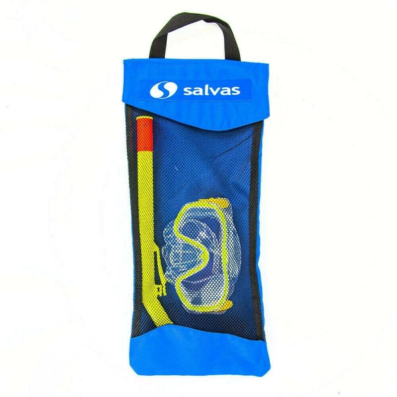 Набор для плавания Salvas Easy Set , арт.EA505C1TGSTB, р. Junior, желтый в сетч. сумке