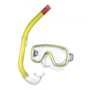 Набор для плавания Salvas Kalua Set , арт.EA151C1TGSTB, р. Senior, желтый в сетчат. сумке