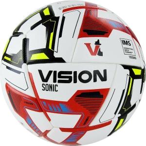 Мяч футбольный  VISION Sonic арт.FV321065,р.5, 24 пан.,IMS,PU, термосш.,бел-мультикол TORRES