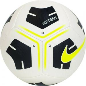 Мяч футбольный  NIKE Park Ball , арт.CU8033-101, р.5, 12 панелей,.ТПУ, маш. сш, бело-черно-желтый
