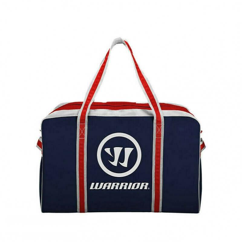 Сумка-баул спортивная  WARRIOR PRO Hky Bag Smal арт.WPHCB7-NR, полиэстер, 71х38х38см, т.сине-красн-бел