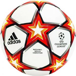 Мяч футбольный  ADIDAS UCL Competition PS арт.GU0209, р.5, FIFA Quality Pro, 32п, ПУ,термосш,мультиколор
