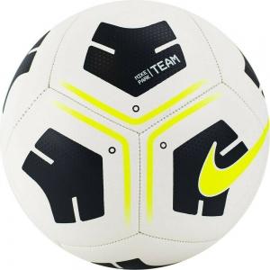 Мяч футбольный  NIKE Park Ball , арт.CU8033-101, р.4, 12 панелей, ТПУ, маш. сш, бело-черно-желтый