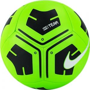 Мяч футбольный  NIKE Park Ball , арт.CU8033-310, р.4, 12 панелей, ТПУ, маш. сш, зелено-черный