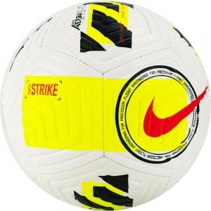 Мяч футбольный  NIKE Strike арт.DC2376-102, р.5, 12 панели, ТПУ, маш. сш.,бело-жел-чер