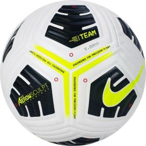 Мяч футбольный  NIKE Academy Pro Ball , арт.CU8038-100, р.5, ПУ, FIFA Quality, 4панели, маш. сш, бел-желт