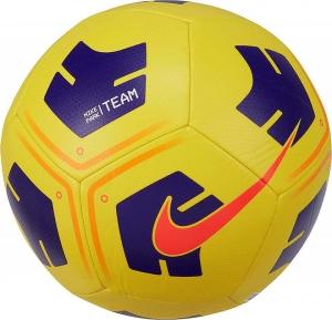 Мяч футбольный  NIKE Park Ball , арт.CU8033-720, р.4, 12 панелей, ТПУ, маш. сш, желтый