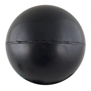 СЦ*Мяч для метания, арт.MR-MM-2S, резина, диам. 6см, вес 150 г, 2й СОРТ (необработанные швы), черный MADE IN RUSSIA