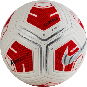 Мяч футбольный  NIKE Strike Team Ball арт.CU8062-100,р.5, вес 290г, 12пан, ТПУ, маш.сш, бело-красный