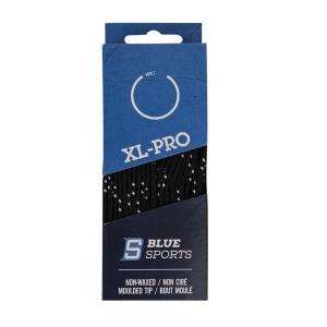 Шнурки для коньков Blue Sports XL-PRO арт.901969-BK-243, полиэс, 243см, черный WARRIOR