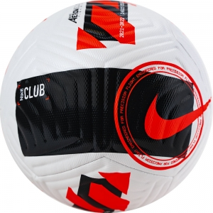 Мяч футбольный  NIKE Club арт.DC2375-100, р.5, 12п, FIFA Quality, ТПУ, маш.сш, бело-черный