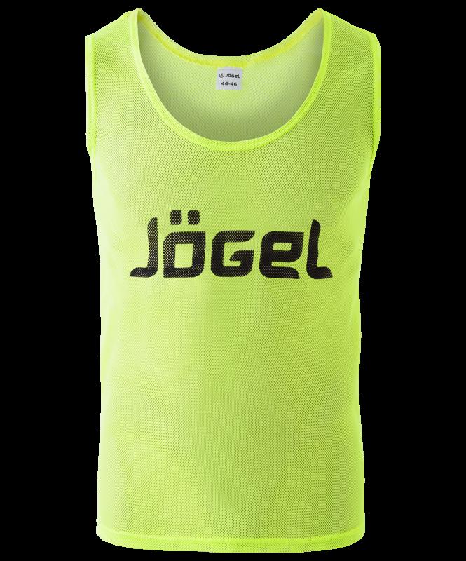 Манишка сетчатая JBIB-1001, взрослая, лимонный, Jögel