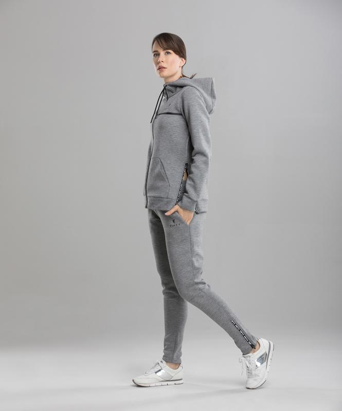 Женская спортивная толстовка Balance FA-WJ-0103, серый, FIFTY
