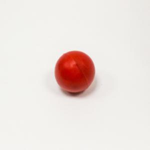 Мяч для метания красный 130 гр., резина
