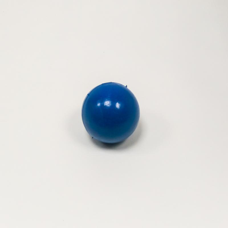 Мяч для метания синий 130 гр., резина