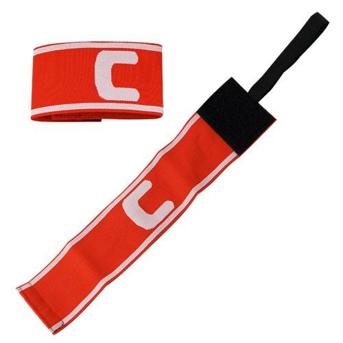 Капитанская повязка TORRES арт. SS11002-04, нейлон, безразмерная, красно-белый