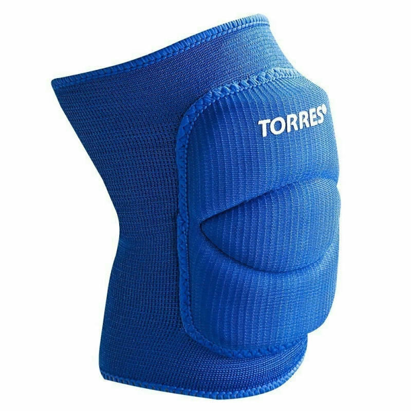 Наколенники спортивные TORRES Classic , синий,р.L, арт.PRL11016L-03, нейлон, ПУ
