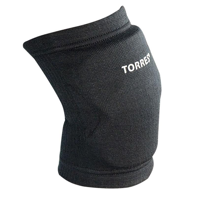 Наколенники спортивные TORRES Light , черный,р.L, арт.PRL11019L-02, нейлон, ЭВА