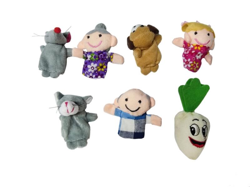 Детский пальчиковый кукольный театр «Репка» BRADEX DE 1163