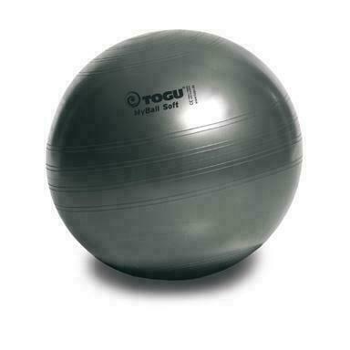 Мяч гимнастический TOGU My Ball Soft 75 см. черный перламутровый