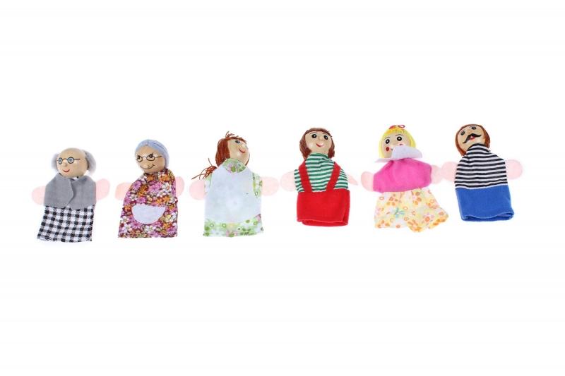 Детский пальчиковый кукольный театр «СЕМЬЯ» BRADEX DE 0514