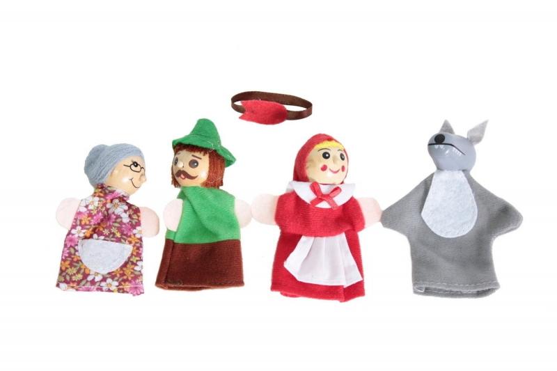 Детский пальчиковый кукольный театр «Красная шапочка» BRADEX DE 1162