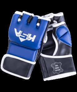 Перчатки для MMA Wasp Blue, к/з, L, KSA