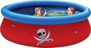 Надувной бассейн 57243 Bestway с 3D рисунком Fast Set