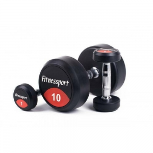 Гантельный ряд 1-10 кг. Fitnessport FDS-01