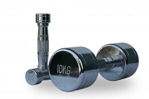 Гантельный ряд Fitnessport 1-10 кг. D-04