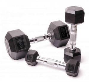 Гантельный ряд гексагональный Fitnessport 2.5-50 кг. D-05