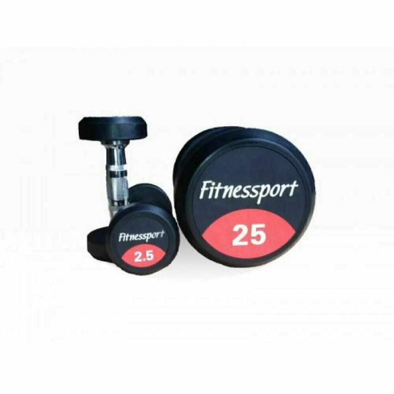 Гантельный ряд Fitnessport 2.5-25 кг. FDS-10