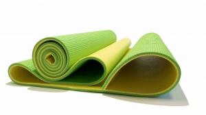 Коврик для фитнеса Banana Lime Original FitTools FT-YGM06S-BANANALIME