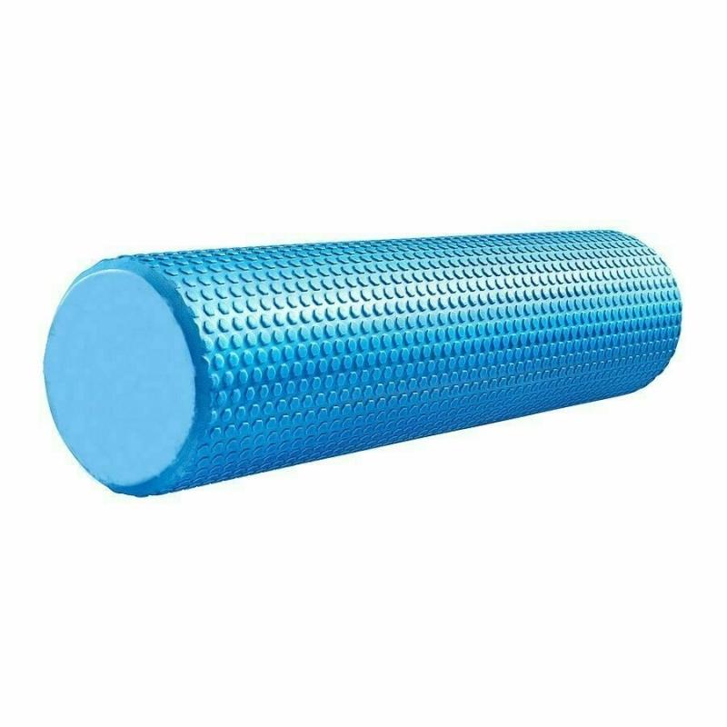 Ролик для йоги ЭВА 60х15 см синий Cliff