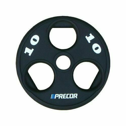 Олимпийский диск в уретане с логотипом Precor FM\UPP вес 10 кг.