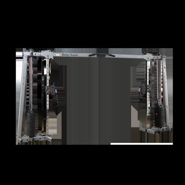 Кроссовер с двумя весовыми стеками по 72,5 кг Body-Solid GDCC250