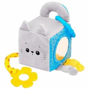 Развивающий кубик котёнок Кекс