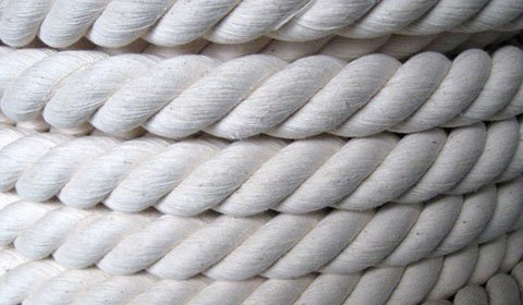 Канат 40 мм. белый