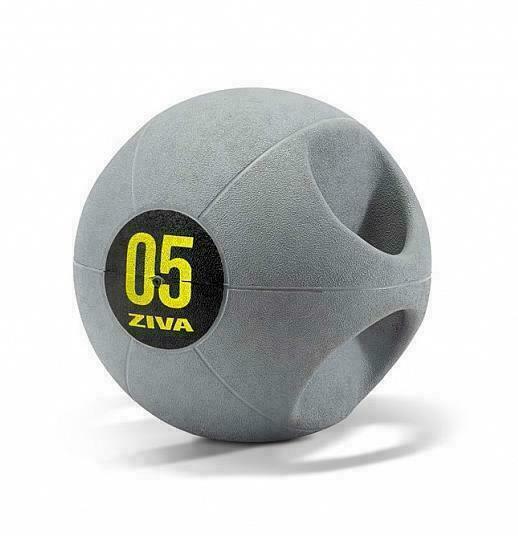 Набивной мяч Medball ZIVA с ручками, 8 кг ZVO-DGMB-1508