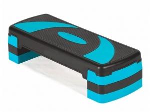 Степ платформа 3-х уровневая синяя PW87302
