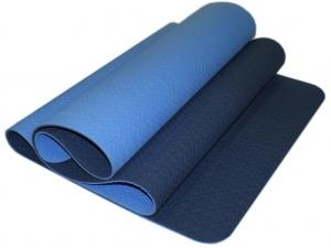 Коврик для йоги перфорированный 1800х600х0.5 мм. синий
